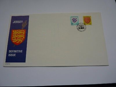 Jersey Definitive Issue 1985 (10) FDC