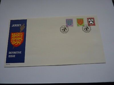 Jersey Definitive Issue 1988 (04) FDC