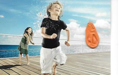 DFDS Advertising Postcard with Balloon