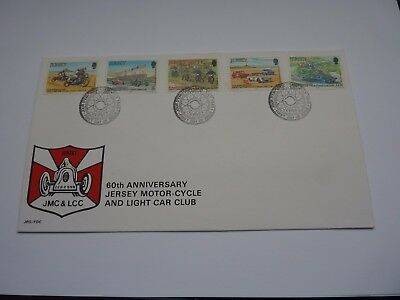 Jersey Motorcycle Club 1980 FDC