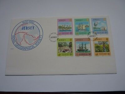 Jersey Royal Geographical Society 1980 FDC
