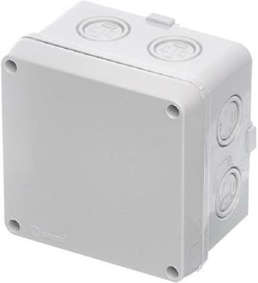 IP67 Thermoplastic Junction Box Enclosure - 110x110x70mm - EUROPA COMPONENTS