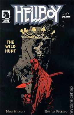 Hellboy Wild Hunt (2008) #2 VF
