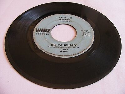 The Vanguards - I Can't Use You Girl / Somebody Please - Whiz