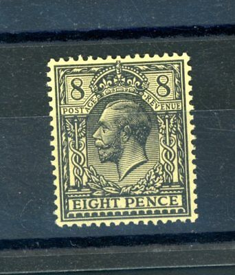 Great Britain  1912  Royal  Cypher  8d  (SG 391)  unmounted MINT    (O883)