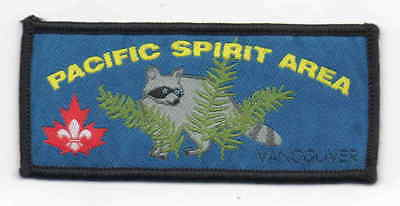 Canada Scout woven Pacific Spirit Area Vancouver badge