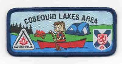 Canada Scout woven Cobequid Lakes Area badge