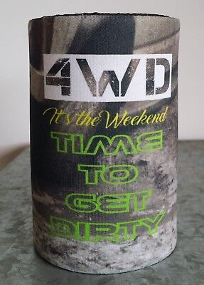 4WD - 4X4 -  GIFT - BAR - DRINKING - STUBBY HOLDER- WRAP - Wholesale available
