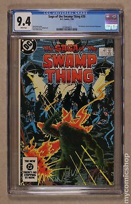 Swamp Thing (1982 2nd Series) #20 CGC 9.4 1215634015