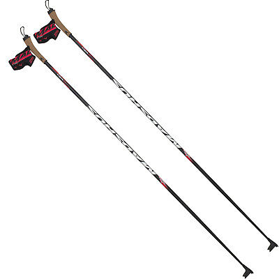 Madshus Carbon Race 40 unisex-langlaufstöcke Alpine Sticks Fixed Length NEW