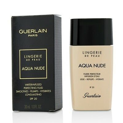 Guerlain Lingerie De Peau Aqua Nude Foundation SPF 20 - #02C Light Cool 30ml