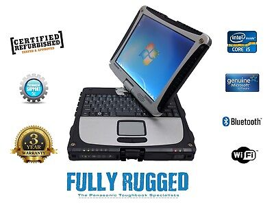 Panasonic Toughbook Cf-19 Mk6 Core i5  Win 7 Or Win 10 Build Your Own Spec