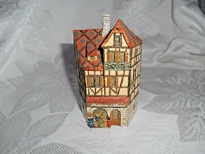 "J. Carlton Dominique Gault Miniature House Building #213018 ""Poterie D'Alsace"""