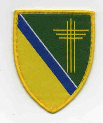Denmark Scout YMCA bound woven Susa Area badge