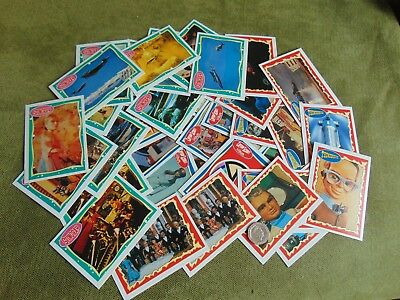 Stingray, Thunderbirds & Captain Scarlett Set Of 43 Collector Cards 1993