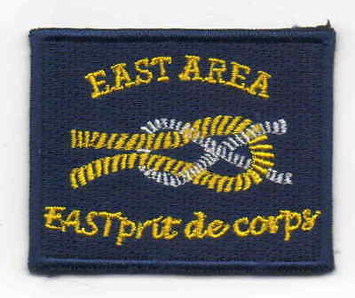 Singapore Scout embroidered East Area badge