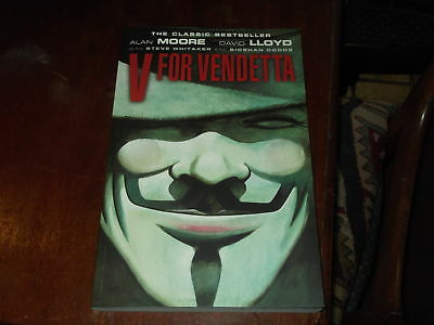 V For Vendetta - Graphic Novel - Good Condition - Alan Moore