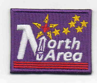 Singapore Scout embroidered North Area badge