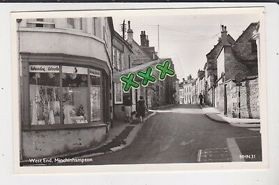Lilywhite Photo Postcard - West End, Minchinhampton.