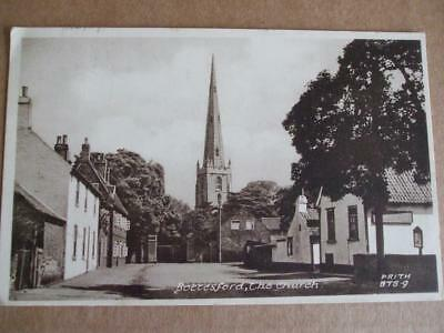 POSTCARD BOTTESFORD THE CHURCH c1940s by Frith
