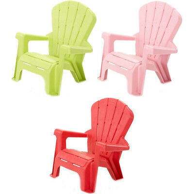 Little Tikes Child Garden Chair CHOICE OF COLOUR, ONE SUPPLIED, NEW