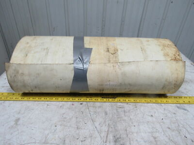 "2 Ply Woven Back PVC Smooth Top Conveyor Belt 28""x79""x0.0825"""