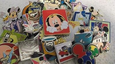Disney Pins_Lot of 25 Trading Pins_Mixed Assortment_Free Shipping_No Doubles