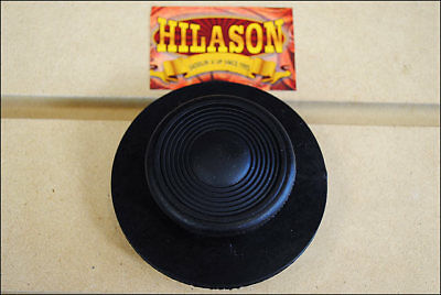 Hilason Horse Tack Soft Rubber Small Round Facial Curry Comb Black