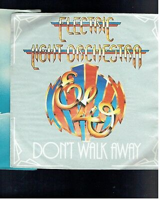 Electric Light Orchestra Don't Walk Away Ps 45 1979