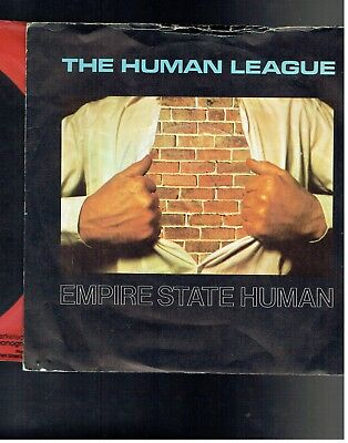 Human League Empire State Human Ps 45 1978
