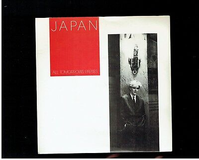 Japan All Tomorrow's Parties Ps 45 1981
