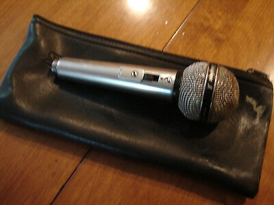 Vintage Shure PE 585 Dynamic microphone for parts or repair