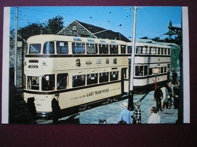 Postcard Sheffield Tram No 510