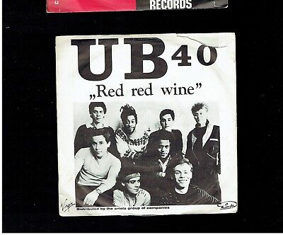 Ub40 Red Red Wine Ps 45 Germany
