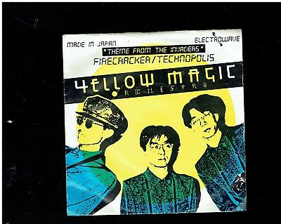 Yellow Magic Orchestra Computer Game(Theme From Invaders) Ps 45