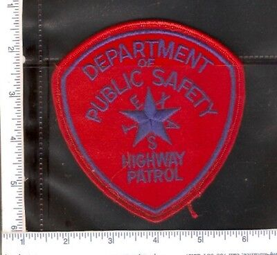 for sale1 vintage police shoulder patch, Texas Highway Patrol.(red)