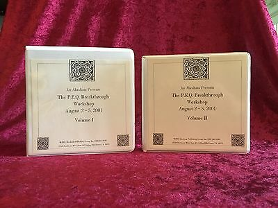 32 CD Jay Abraham Performance Enhancement Quotient PEQ Workshop Vol 1 & 2 32 CD