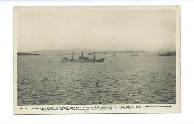 Scapa Flow - 21 - 6 - 1919 , German Fleet Scuttled