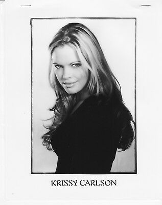 KRISSY CARLSON glamour headshot Agency Photo SUNSET BEACH Deal Or No Deal MODEL