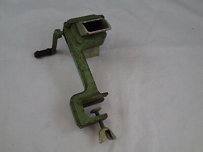 Antique 1930's Cast Iron Hand Manual Press Dough Noodle Maker Roller