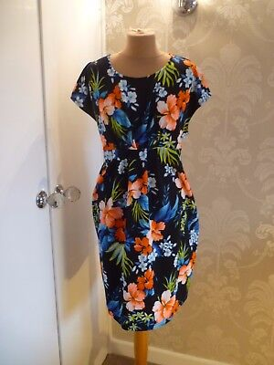 NEW LOOK MATERNITY print dress size 18