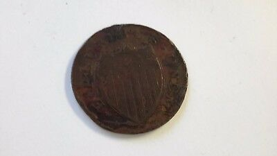 1787 New Jersey Colonial Copper Coin     -261D