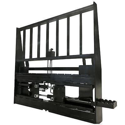 Titan Adjustable Hydraulic Skid Steer Pallet Fork Frame