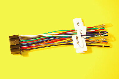 16 pin wire harness for select kenwood car radio cd player stereo kenwood gps navigation system wire harness for kenwood dnx9980hd includes 1 harness (100% copper)* new