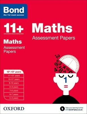 Bond 11+: Maths Assessment Papers: 12+-13+ years (Paperback), Cle. 9780192740205