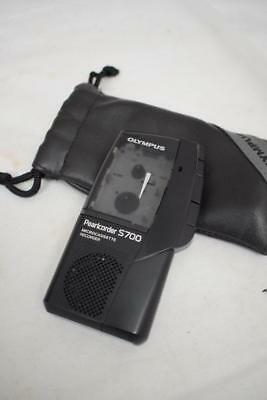 Olympus Pearlcorder S700 Micro-cassette Recorder (Dictaphone)