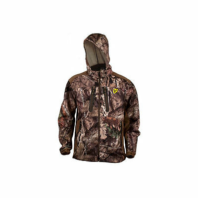 2040 ScentBlocker Dead Quiet Jacket Mossy Oak Country Camo Large