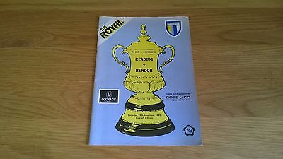 1988/89 FA CUP 1ST ROUND - READING v HENDON