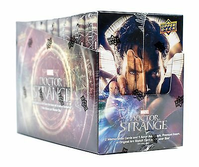Doctor Strange Hobby Box Marvel Upper Deck Sealed 7 Mini Boxes Per Master Box