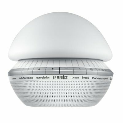 HoMedics Soundspa, Enliven with Six digitally recorded, calming sounds